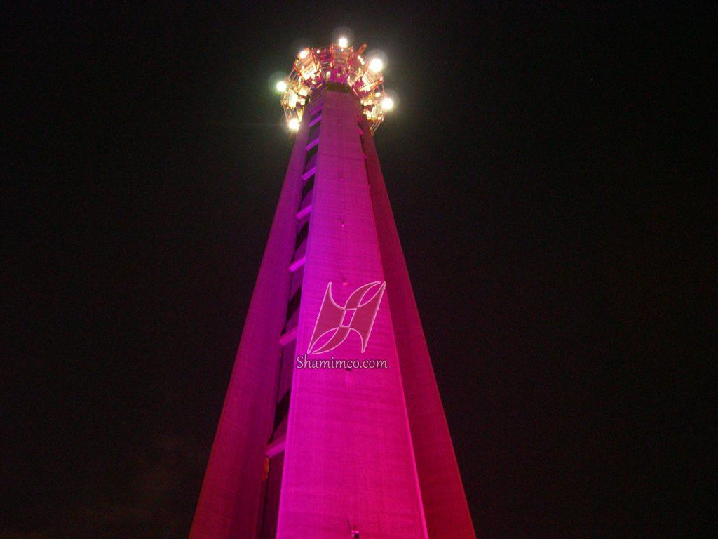 نورپردازی برج میلاد
