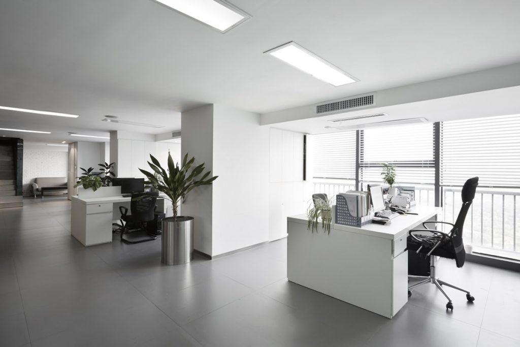 نورپردازی محیط کار