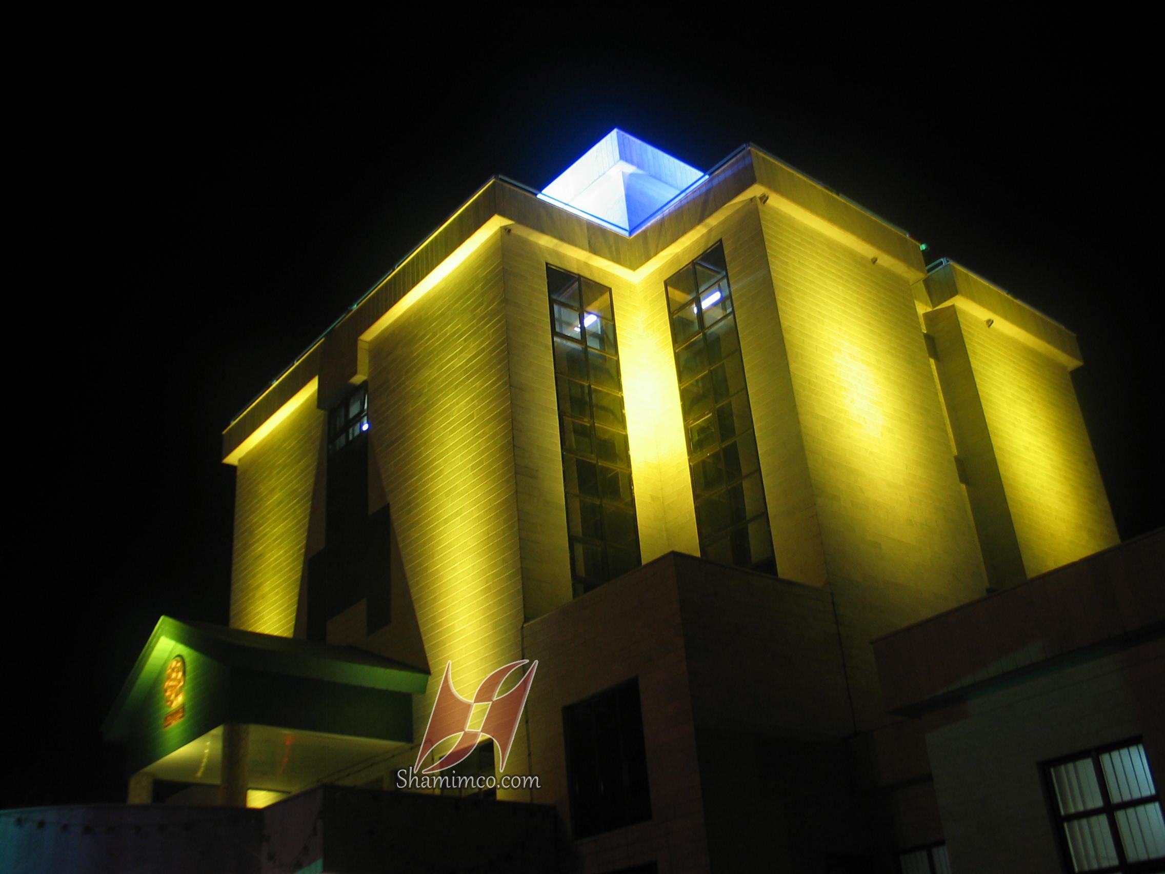 نورپردازی مجتمع غدیر مشهد
