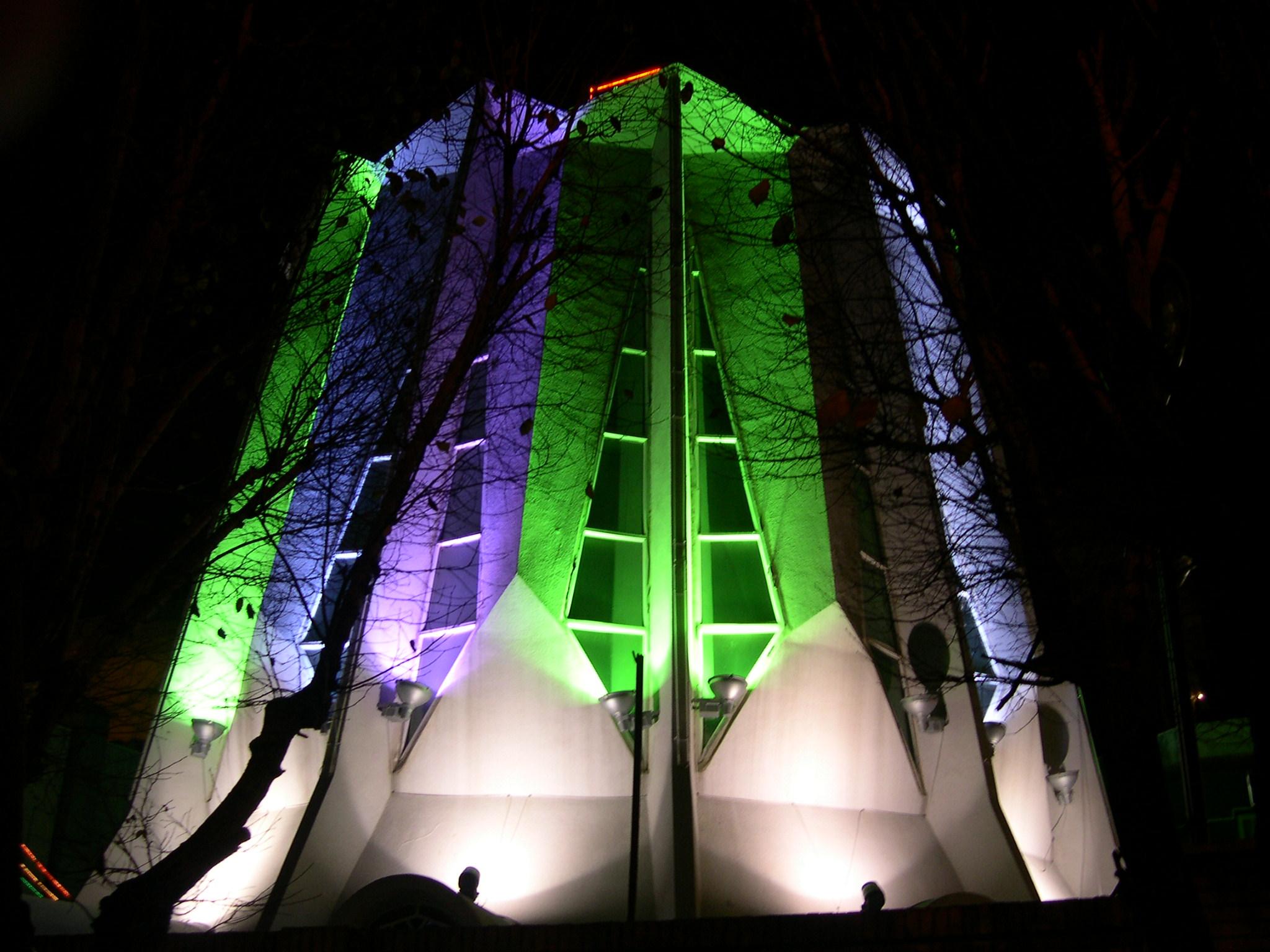 نورپردازی مسجد الجواد
