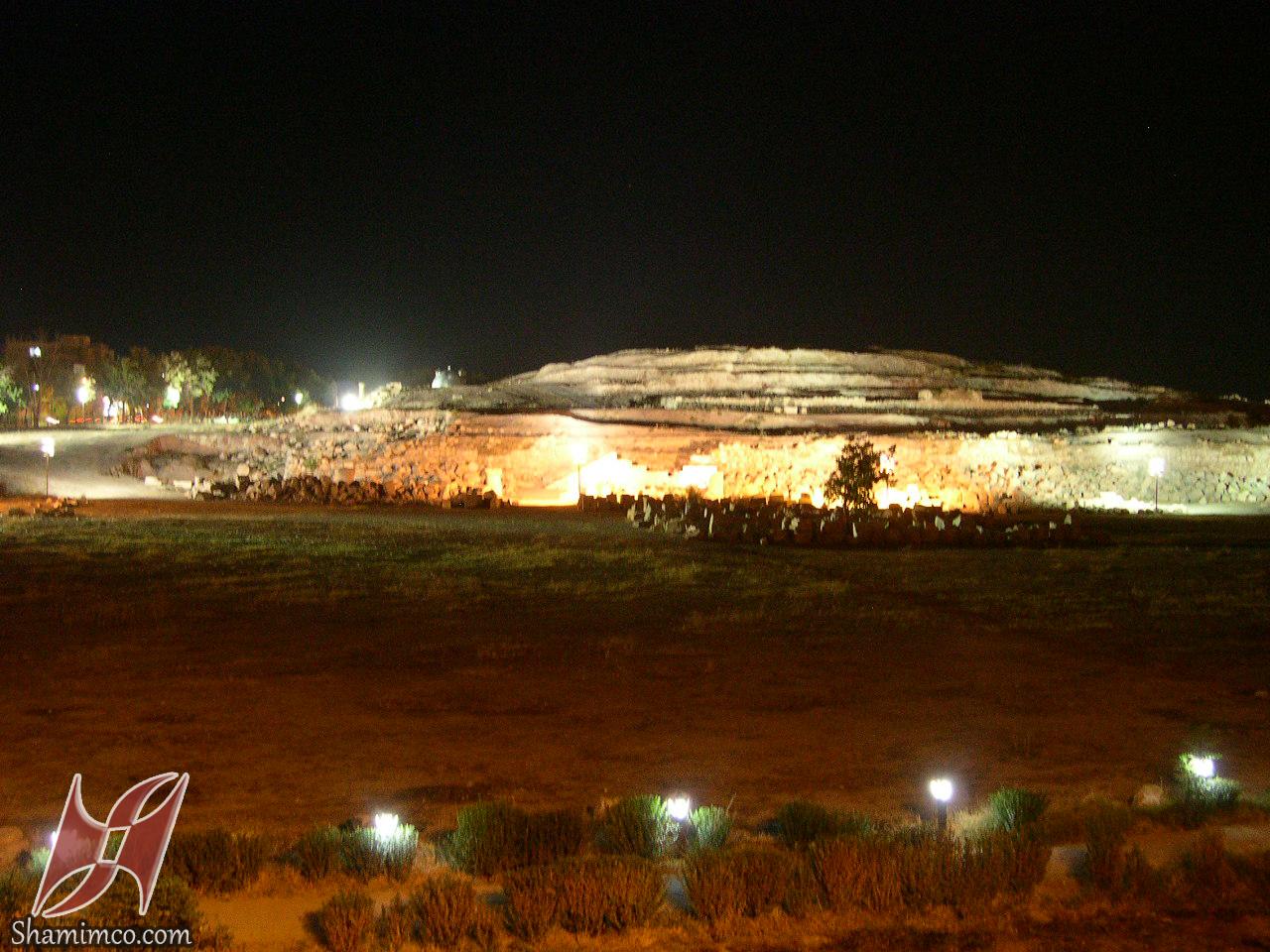 نورپردازی معبد آناهیتا