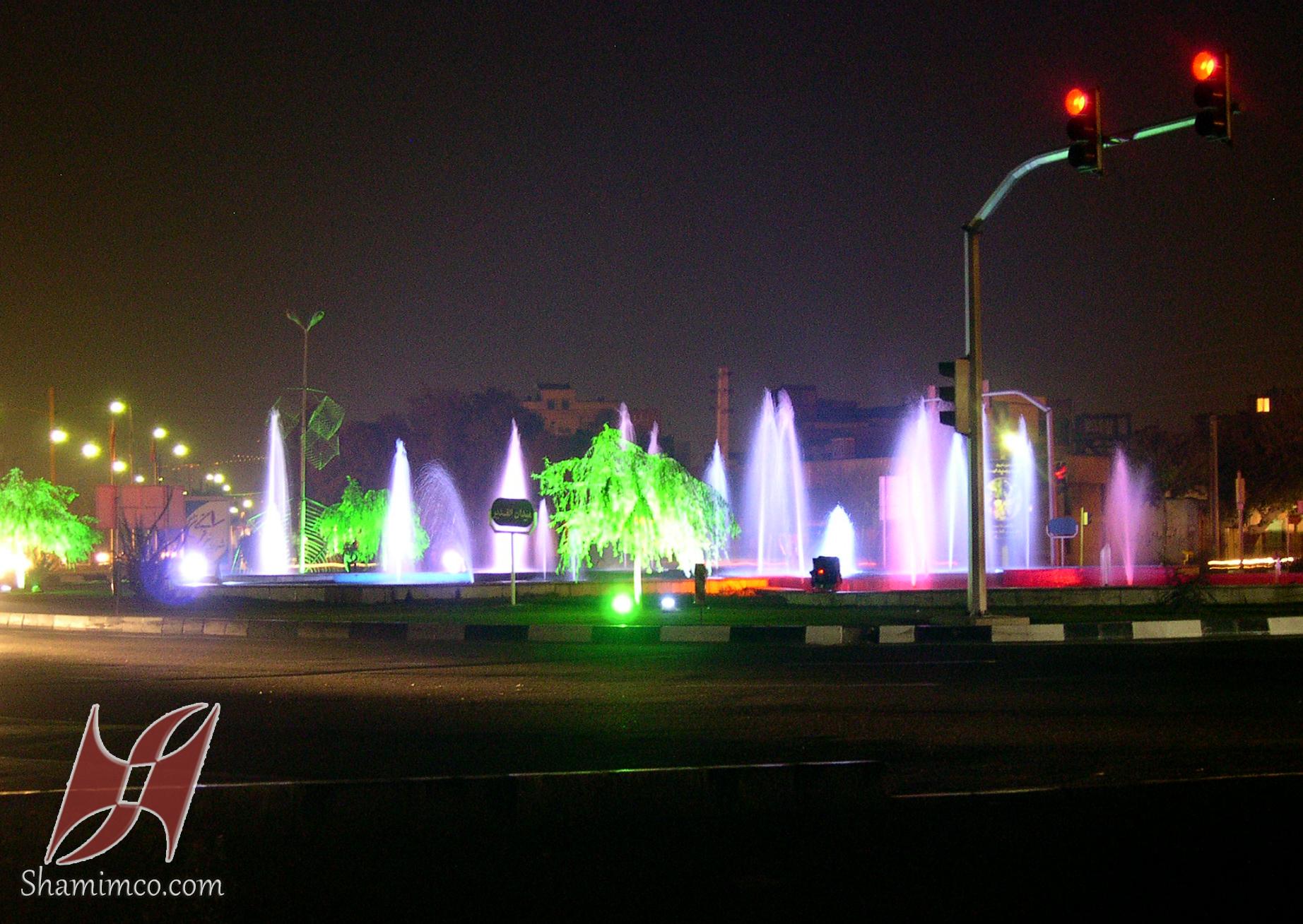 نورپردازی میدان الغدیر