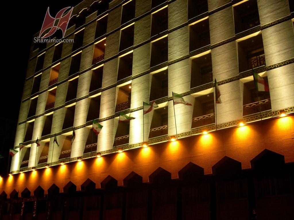 نورپردازی هتل کوثر اصفهان