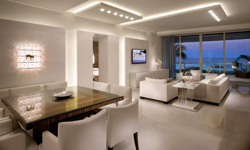 انواع نورپردازی های داخل خانه