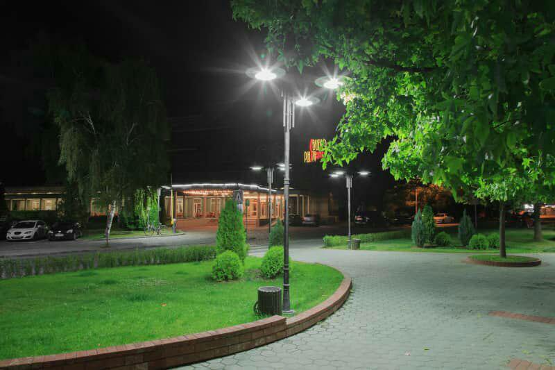 نورپردازی پارک های شهری