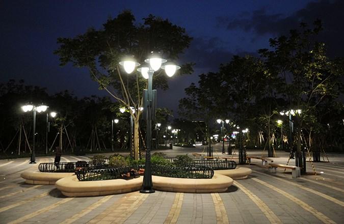 نورپردازی مناظر شهری