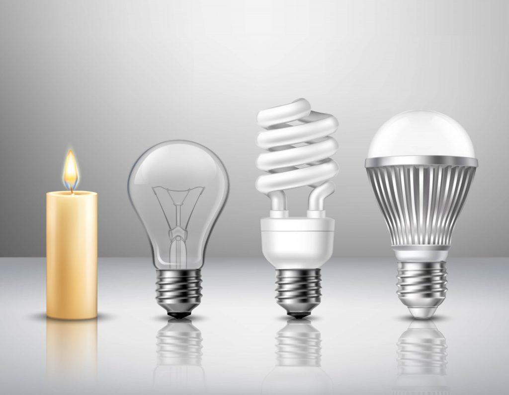 مزایای استفاده از لامپ های ال ای دی نسبت به سایر لامپ ها
