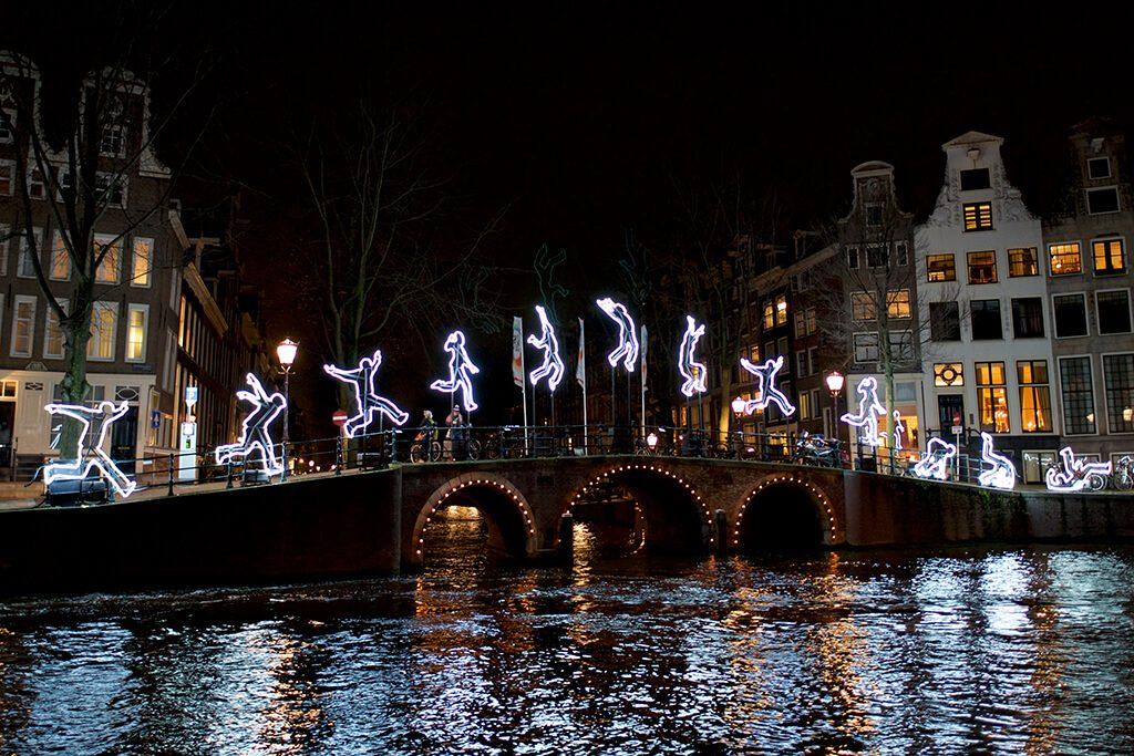 Amsterdam Light Festival فستیوال نورپردازی