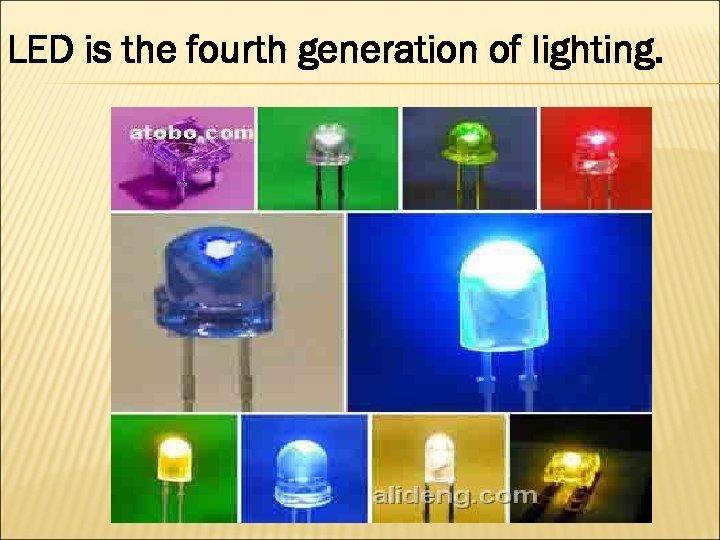 دیود های نوری ال ای دی (LED) در کنار هم