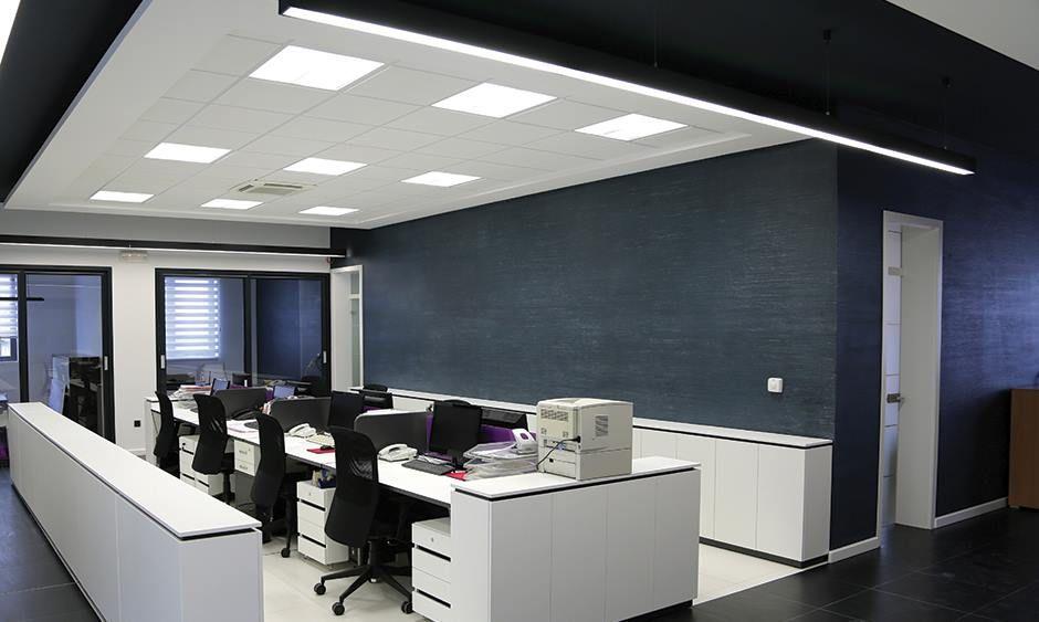 روشنایی با پنل های ال ای دی (LED)